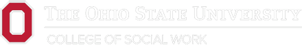 The Ohio State University College of Social Work Logo