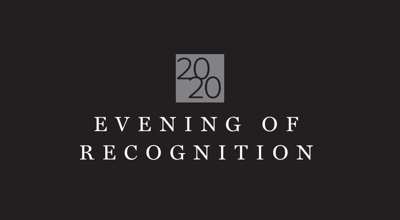 2020 Evening of Recognition